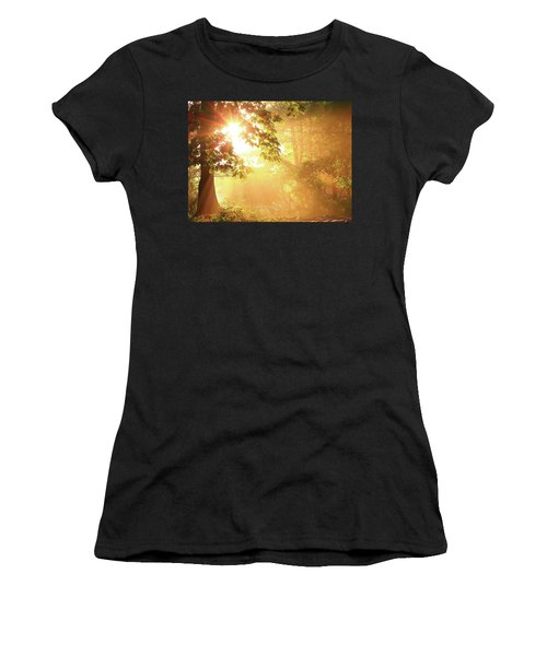 Tree Light-god's Rays Women's T-Shirt