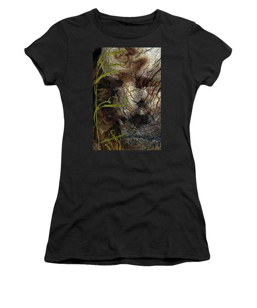 Women's T-Shirt (Junior Cut) featuring the photograph Tree Memories # 37 by Ed Hall