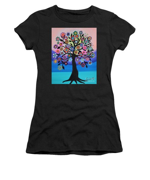Blooming Tree Of Life Women's T-Shirt