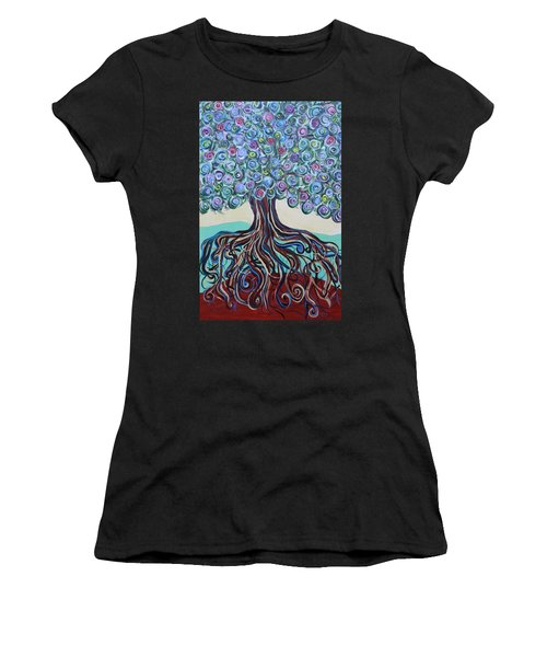 Tree Of Life-spring Women's T-Shirt (Athletic Fit)