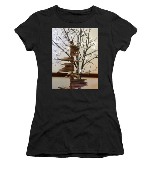 Tree Of Lights Women's T-Shirt (Athletic Fit)