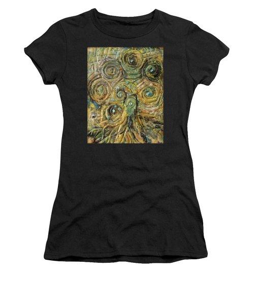 Tree Of Swirls Women's T-Shirt (Athletic Fit)
