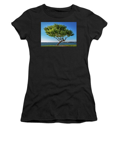 Tree On The Bay Women's T-Shirt
