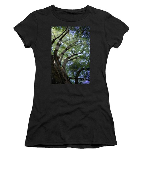 Tree Rays Women's T-Shirt (Athletic Fit)