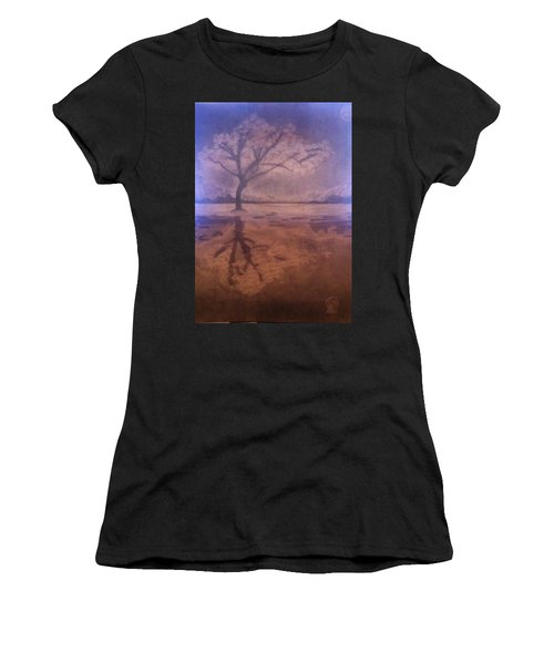Tree Reflection  Women's T-Shirt (Athletic Fit)