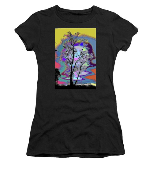 Tree - Story Of Life Women's T-Shirt (Athletic Fit)