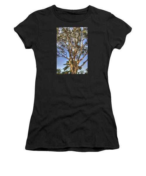 Tree To The Heavens Women's T-Shirt (Athletic Fit)
