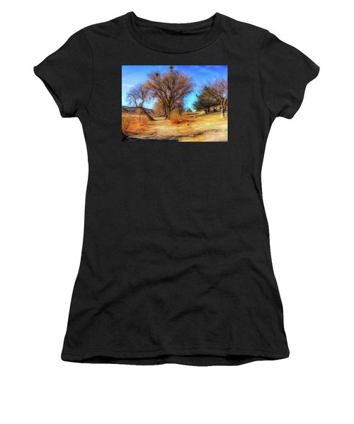 Trees Along Elizabeth Lake Women's T-Shirt