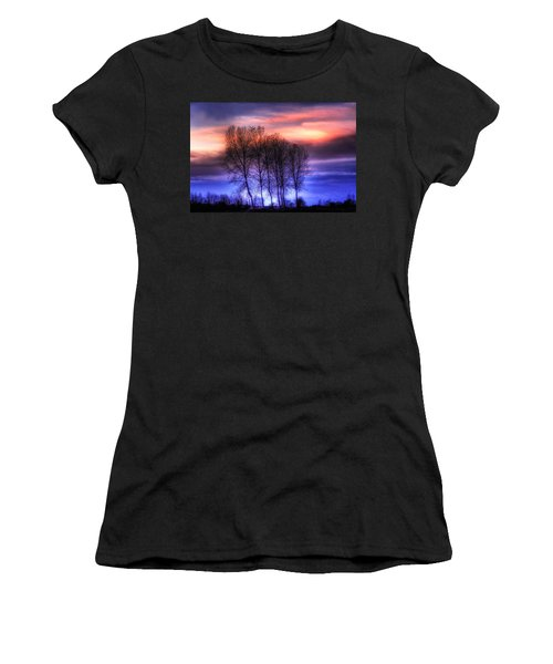Trees And Twilight Women's T-Shirt (Athletic Fit)
