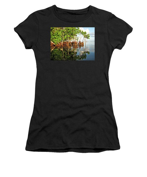 Trees In The Sea Women's T-Shirt