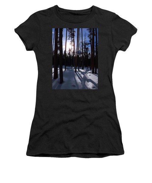 Trees In Winter Women's T-Shirt