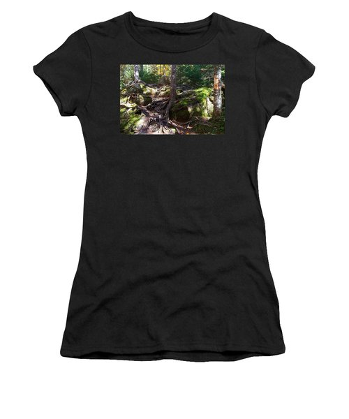 Trees - Mont Tremblant National Park Women's T-Shirt (Athletic Fit)