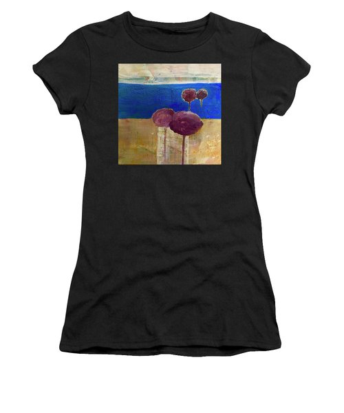 Treescape Women's T-Shirt (Athletic Fit)