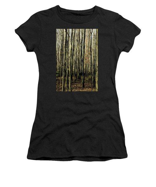 Treez Yellow Women's T-Shirt (Athletic Fit)
