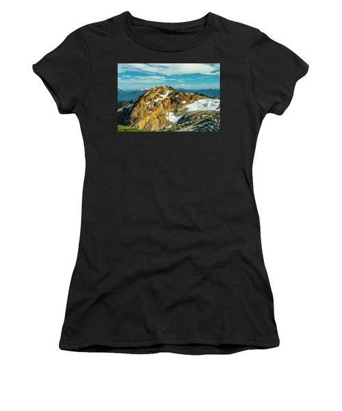 Trekking Into Camp Women's T-Shirt