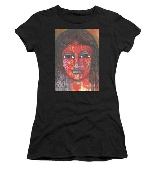 Tribal Woman Women's T-Shirt (Athletic Fit)
