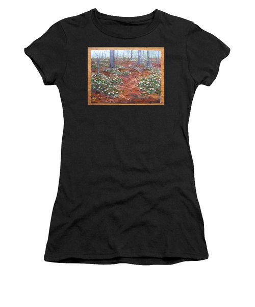 Trilliums After The Rain Women's T-Shirt
