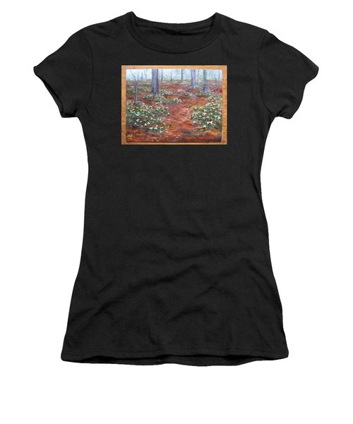 Trilliums After The Rain Women's T-Shirt