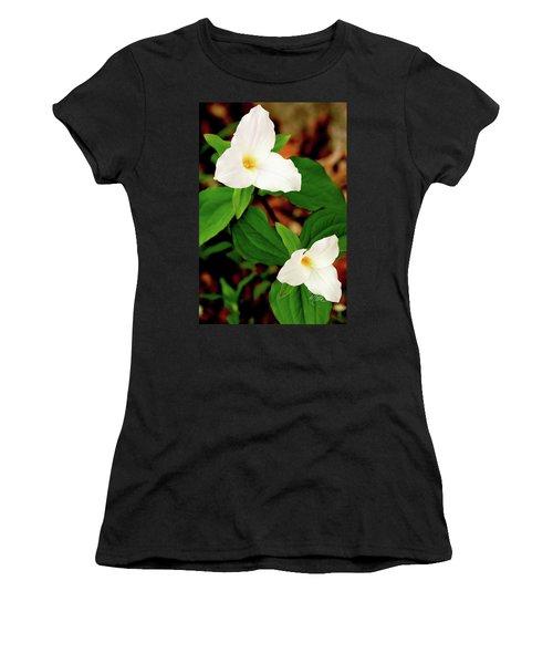 Trilliums Women's T-Shirt (Athletic Fit)