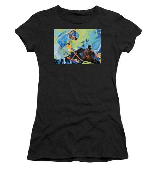Triple Crown Champion American Pharoah Women's T-Shirt