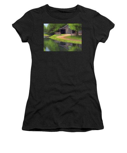 Triple L Ranch  Women's T-Shirt (Athletic Fit)