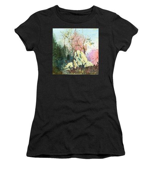 Triptych Panel 1 Women's T-Shirt