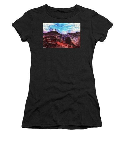 Triumphant Life Women's T-Shirt (Athletic Fit)