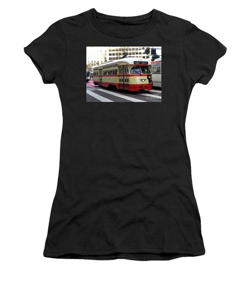 Trolley Number 1079 Women's T-Shirt (Athletic Fit)