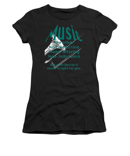 Trombone Music Is Right For You 5495.02 Women's T-Shirt (Athletic Fit)