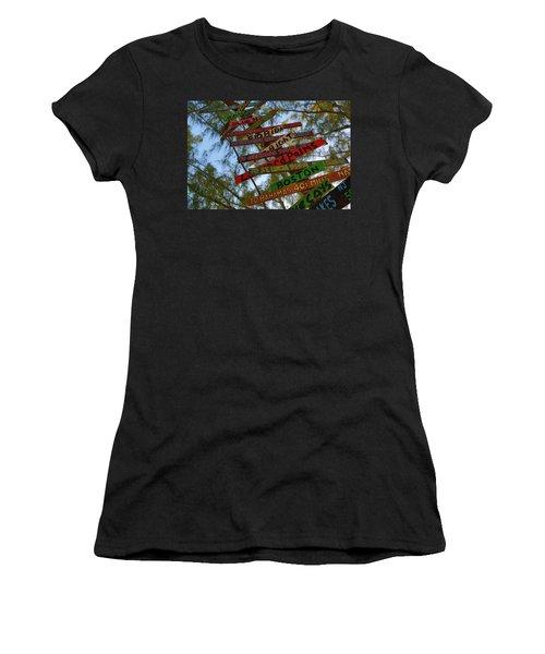 Tropical Directions Women's T-Shirt