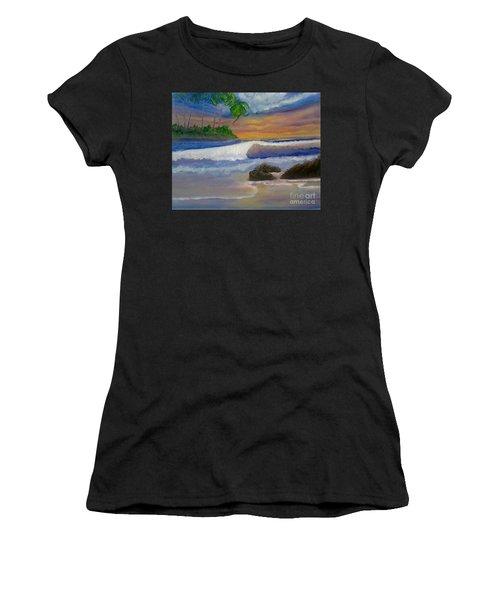 Tropical Dream Women's T-Shirt (Athletic Fit)