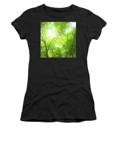 Tropical Forest Women's T-Shirt (Athletic Fit)