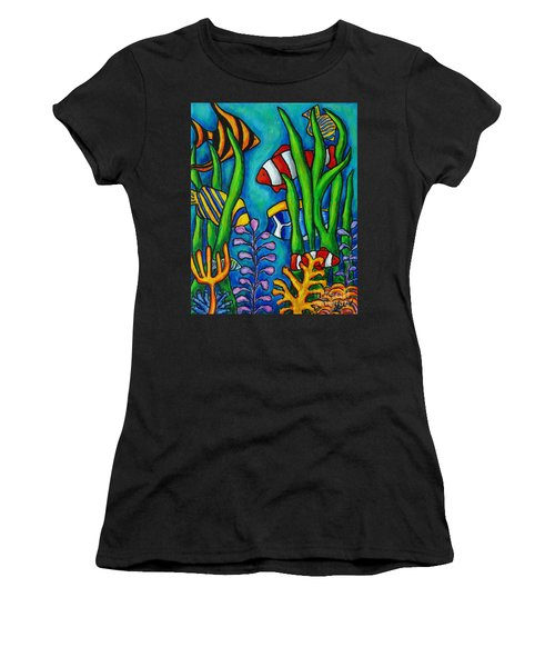 Tropical Gems Women's T-Shirt (Athletic Fit)