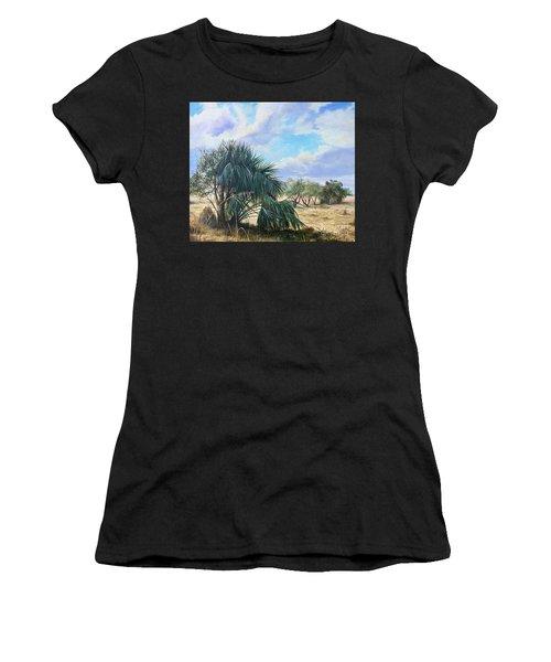 Tropical Orange Grove Women's T-Shirt