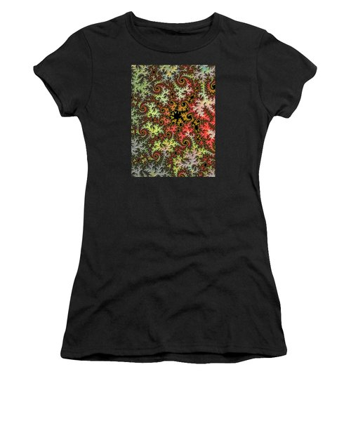 Tropical Storm Embroidered Women's T-Shirt (Athletic Fit)