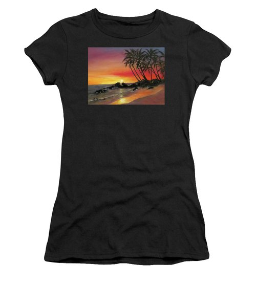 Tropical Sunset Women's T-Shirt