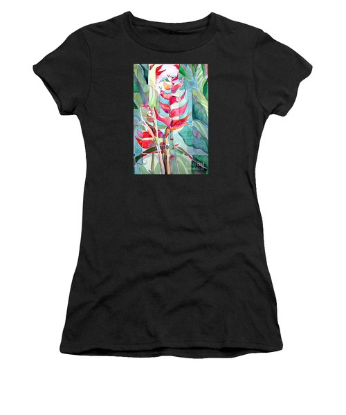 Tropicana Red Women's T-Shirt (Athletic Fit)