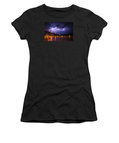 Troubled Skies Women's T-Shirt (Athletic Fit)