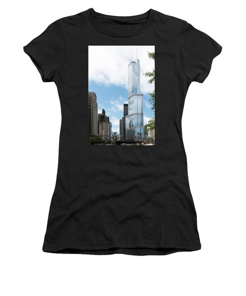 Trump Tower In Chicago Women's T-Shirt