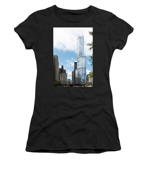Trump Tower In Chicago Women's T-Shirt
