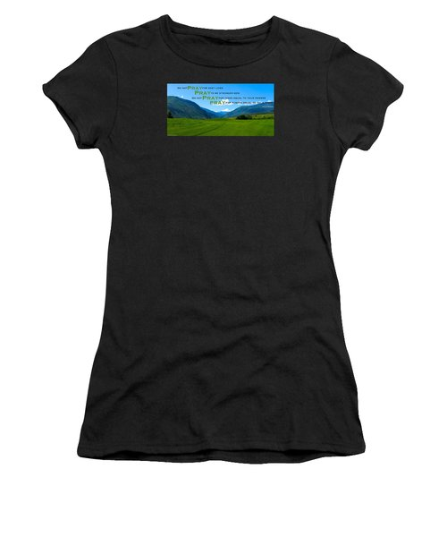 Truth In Fellowship Women's T-Shirt (Athletic Fit)