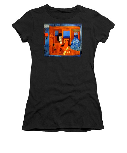 Trying To Find The Way Out Or Is It Better To Stay   Women's T-Shirt