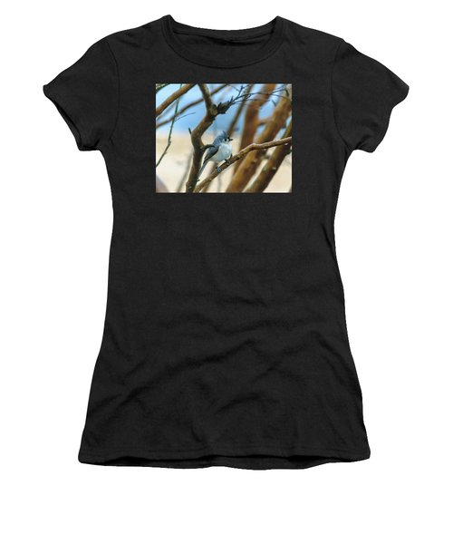 Tufted Titmouse In Tree Women's T-Shirt