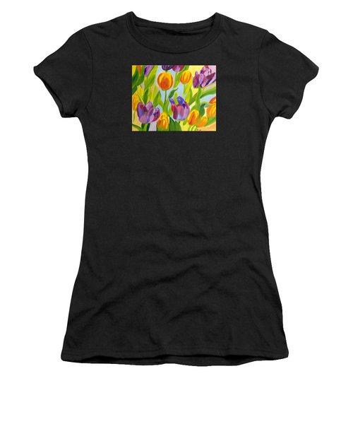 Tulip Fest Women's T-Shirt (Athletic Fit)