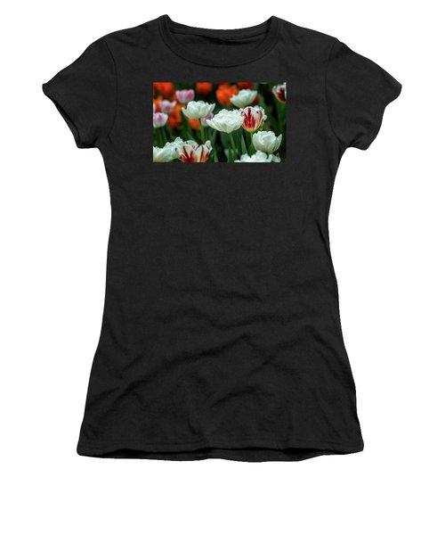 Tulip Flowers Women's T-Shirt