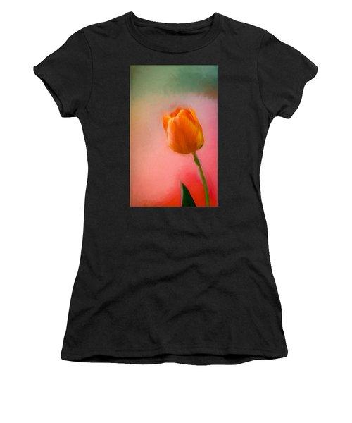 Tulip On The Porch Women's T-Shirt