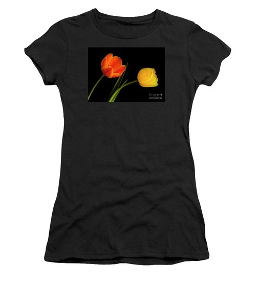 Tulip Pair Women's T-Shirt (Athletic Fit)