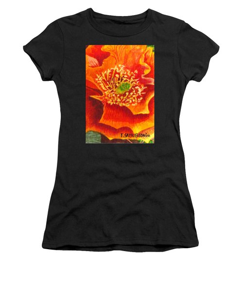 Tulip Prickly Pear Women's T-Shirt (Athletic Fit)