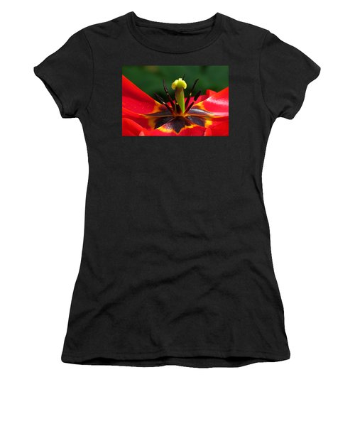 Tulip Stamen Women's T-Shirt (Athletic Fit)