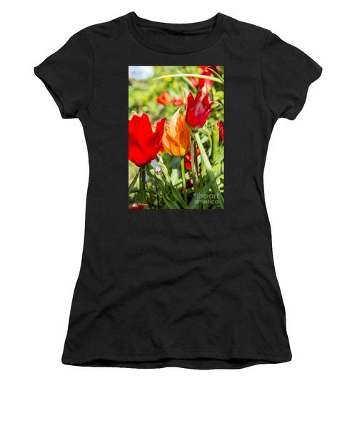 Tulip - The Orange One 02 Women's T-Shirt (Athletic Fit)